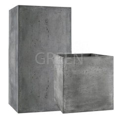 Кашпо CUBE CONCRETE ORIGINAL
